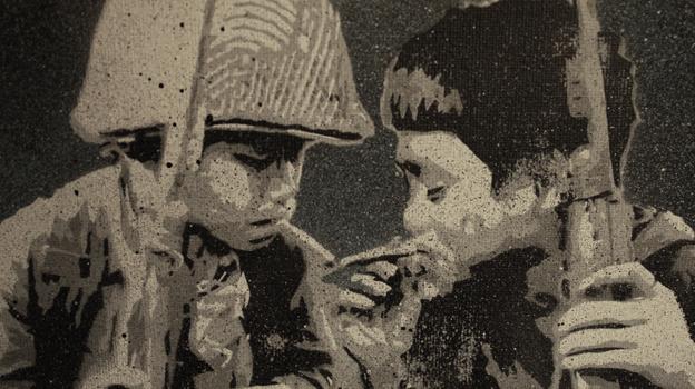2 boys smoking by nikolasboom