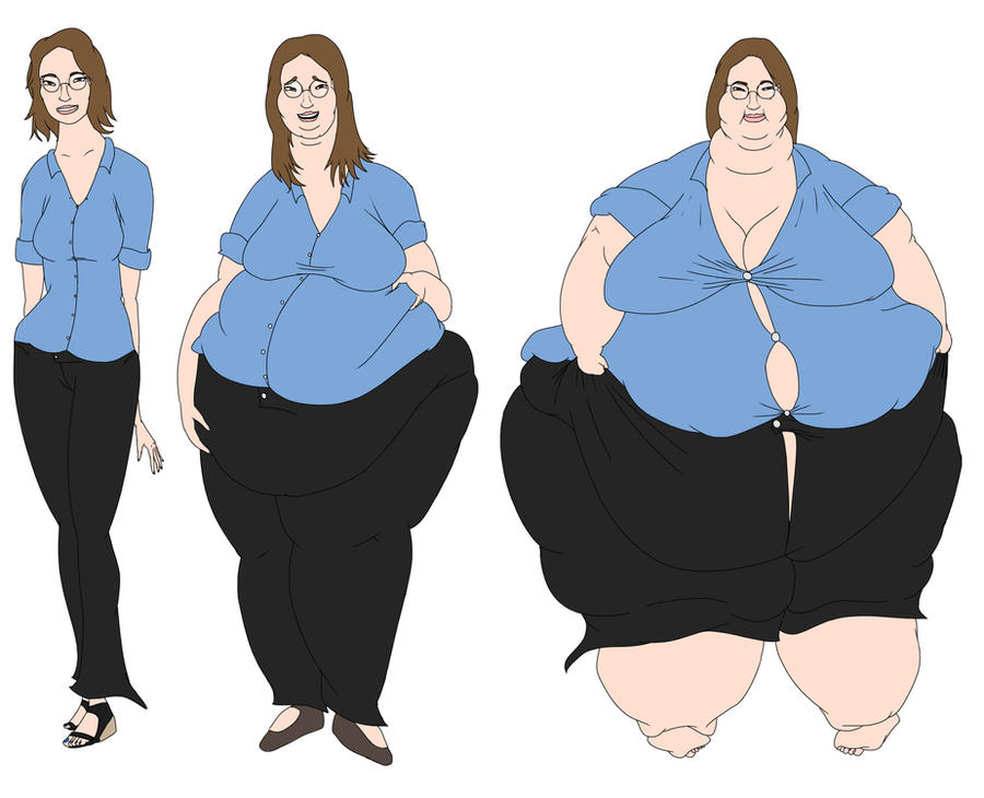 Deviantart Giantess Weight Gain: Female Weight Gain Deviantart