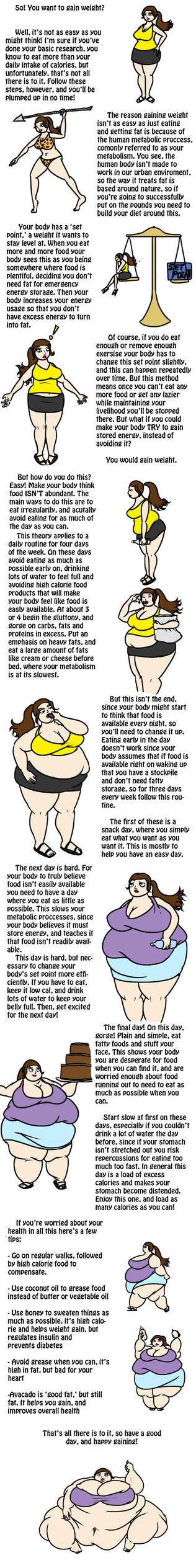 How to Gain Weight by ExtraBagageClaim