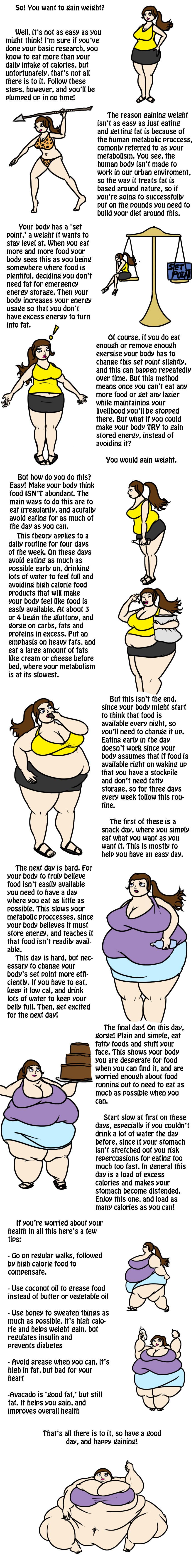 How to Gain Weight by ExtraBaggageClaim