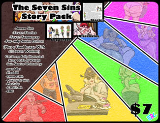 The Seven Sins Story Pack! by ExtraBaggageClaim