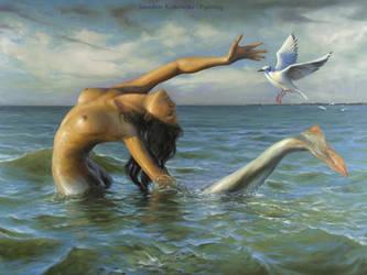 The Last Baltic Mermaid by Yaro42