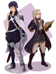 Chrom and Robin