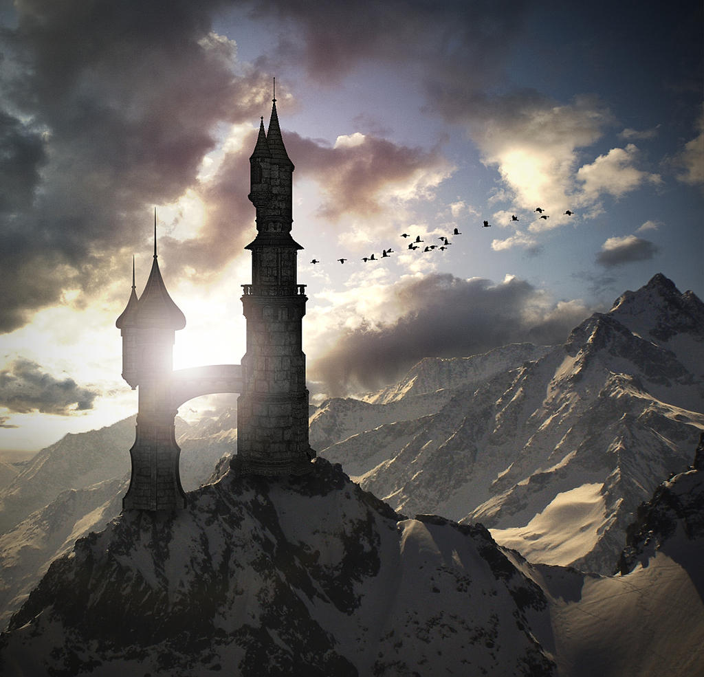 fantasy art wizard castle - photo #12