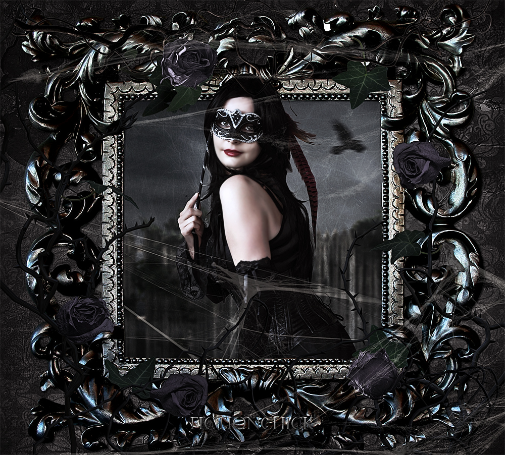 Gothic Portrait by FictionChick