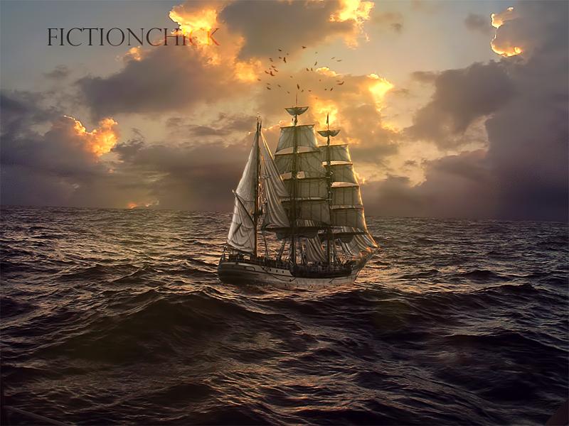 Sunrise Sail by FictionChick