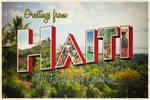 Haiti Postcard by FictionChick