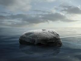 Sea Rock Stock by FictionChick