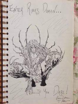 Witchblade Sketch