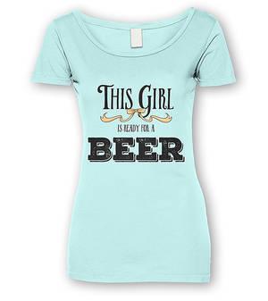 Beer Girl T-shirt