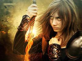 Jeanne d'Arc by FictionChick