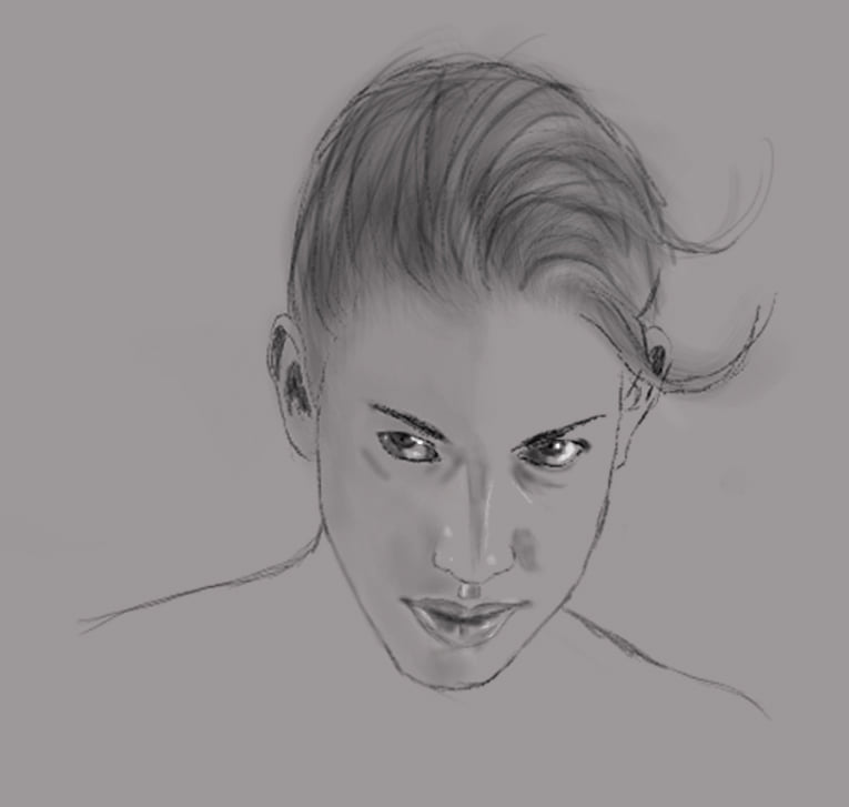 Sketch Girl 1