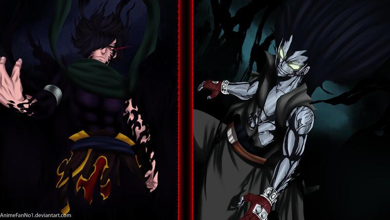 Rogue VS Gajeel by AnimeFanNo1Gajeel Vs Rogue