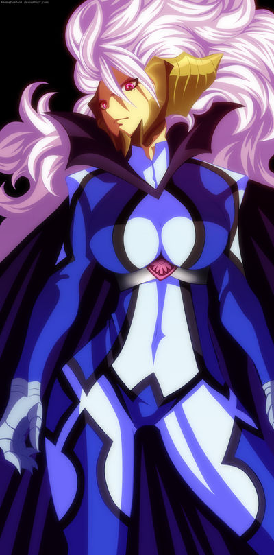 Xyl1p4lbcdaium The one from that episode when she was badass umm. https www deviantart com animefanno1 art mirajane satan soul sitri 499085101
