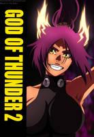 God of Thunder Yoruichi by AnimeFanNo1