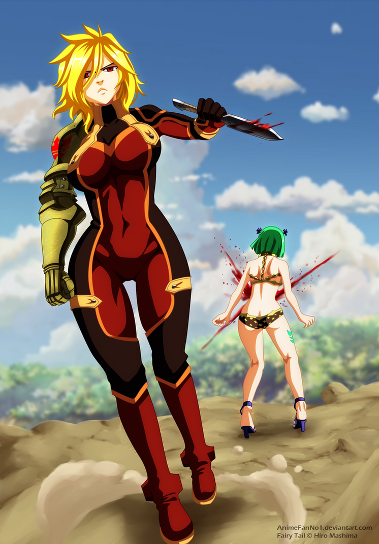 fairytail_fairy tail chapter 501_ dimaria and brandish