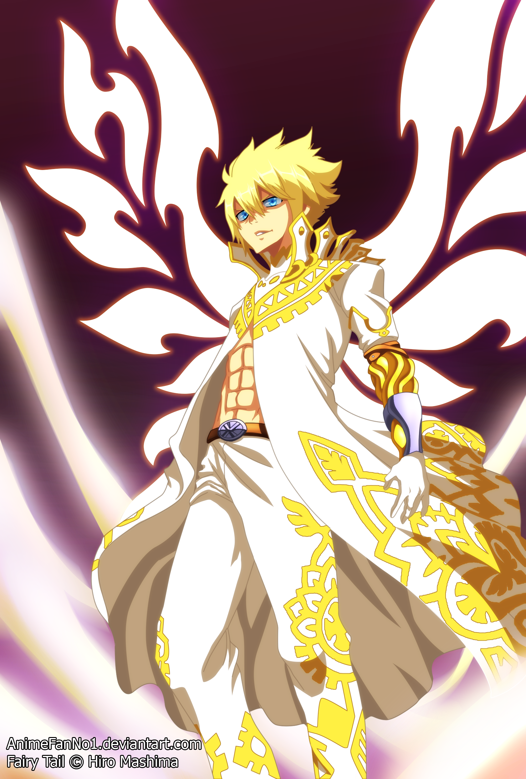 Fairy Tail Chapter 532 - Zeref's God Form by AnimeFanNo1 on DeviantArt
