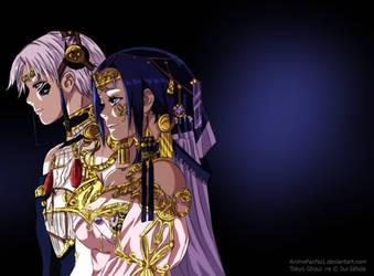 Tokyo Ghoul :re 132 - Kaneki and Touka by AnimeFanNo1