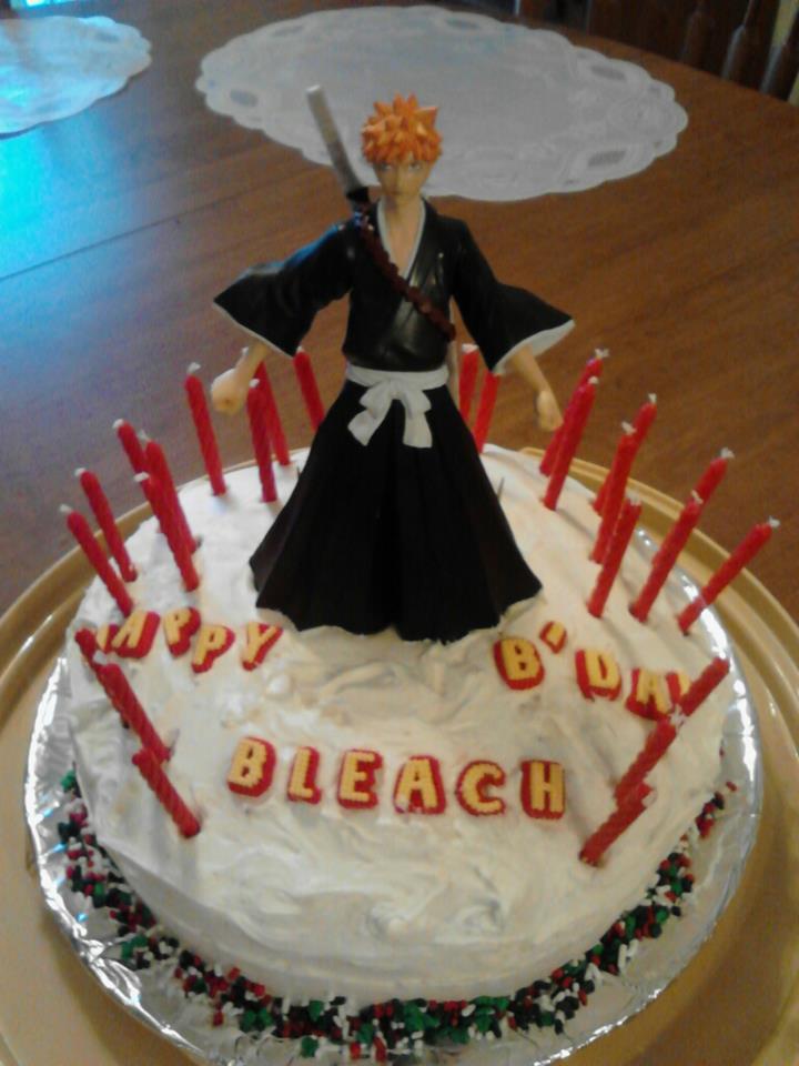 My Bleach Birthday Cake By Annanious84