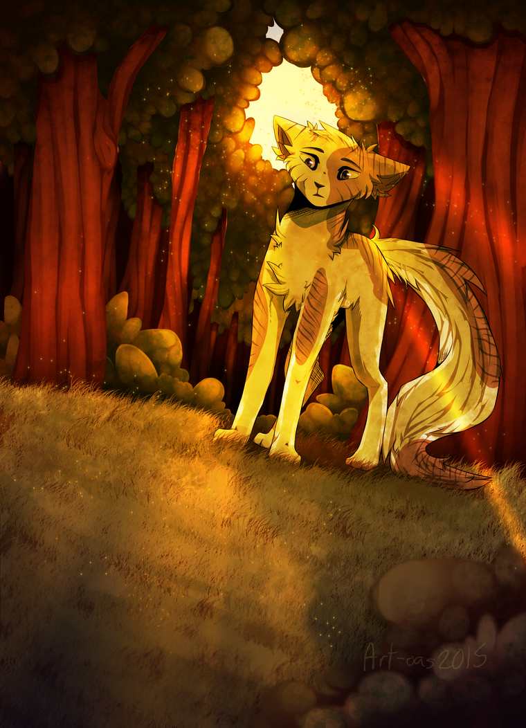 Before the dark side || Ivypool by art-of-a-spirit