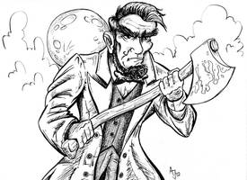 Abraham Lincoln: Vampire Hunter ver.2 by AtlantaJones