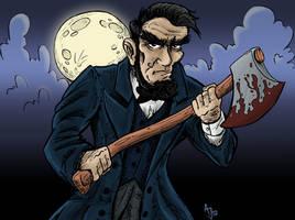 Abraham Lincoln: Vampire Hunter ver.2 Color by AtlantaJones
