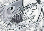 Jaws Sketch Card