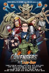 Avengers Poster Commission by AtlantaJones