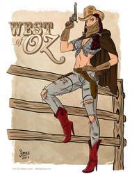Western Dorothy from Wizard of Oz by AtlantaJones