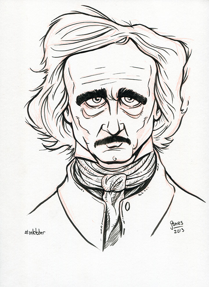 edgar allan poe coloring pages - photo#10