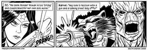 Comic: Oakey and the Bandit by AtlantaJones