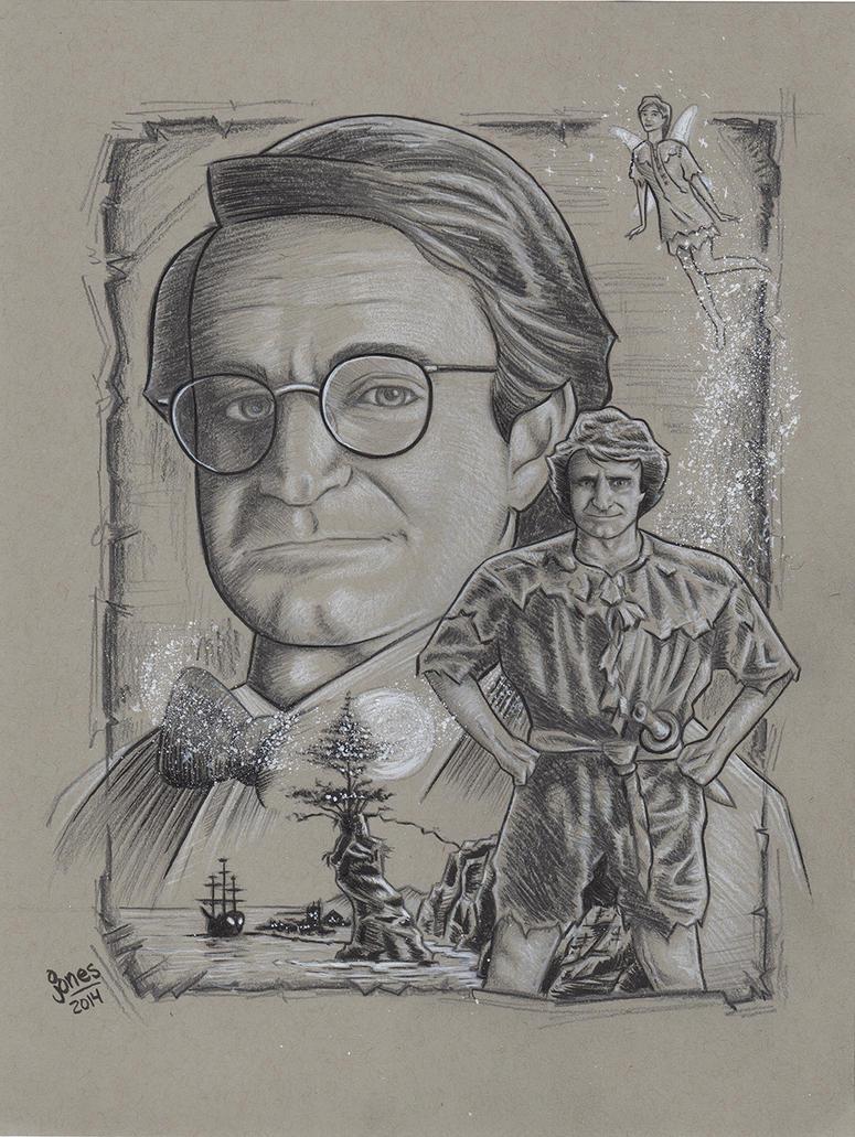 Robin Williams Tribute: Hook by AtlantaJones