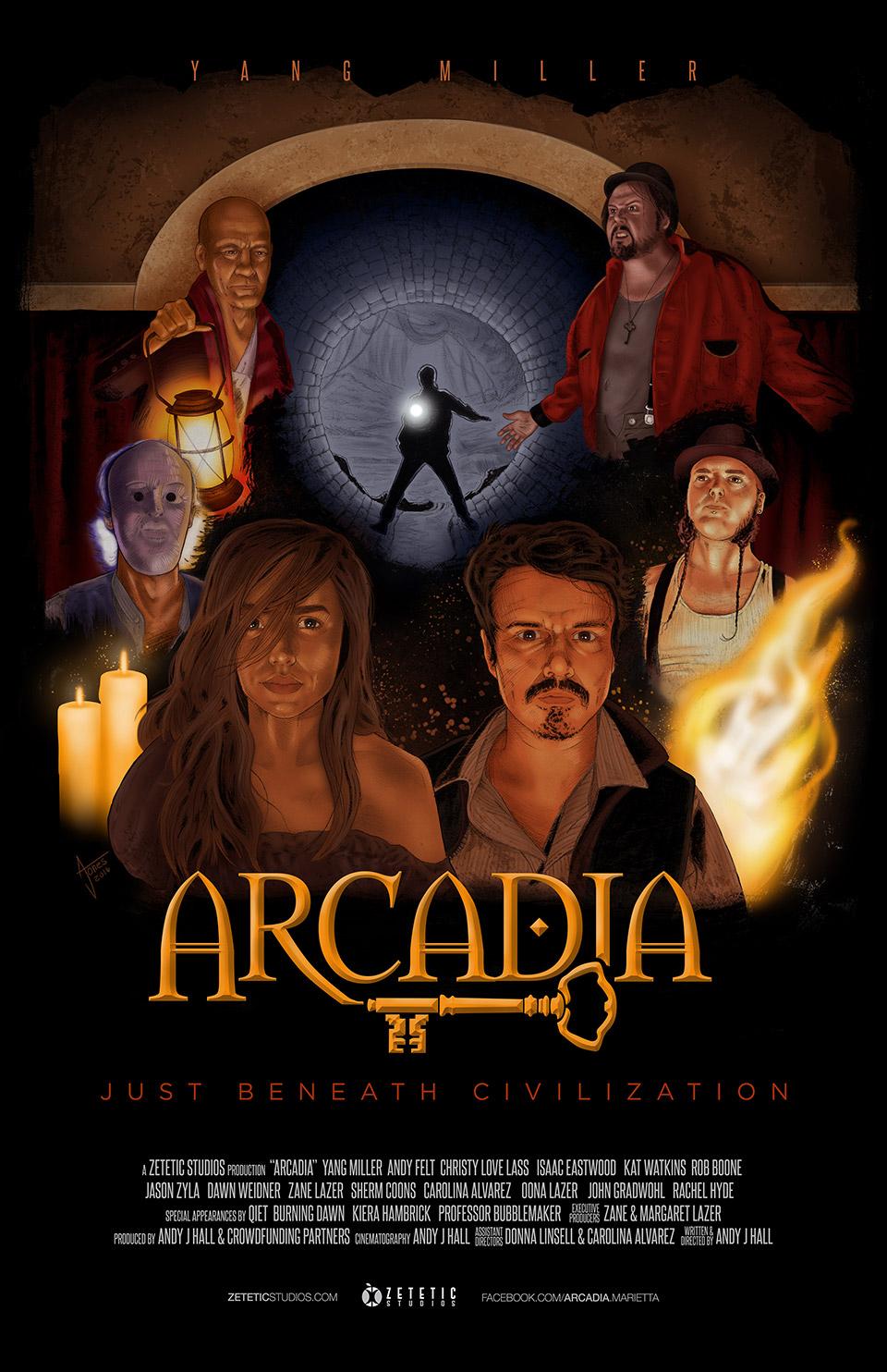 Arcadia Movie Poster by AtlantaJones