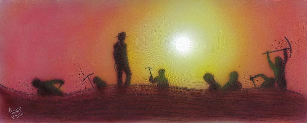 Indiana Jones: Sunset at Tanis by AtlantaJones