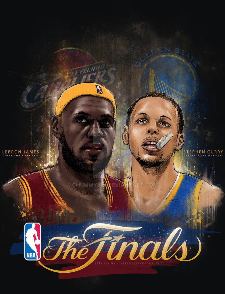 Stephen Curry And Lebron James Drawing