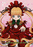 90s Anime Rozen maiden shinku