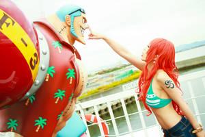 Nami and Straw Hat Pirates by MinoruneTomo