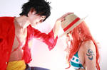 The future of Luffy and Nami by MinoruneTomo