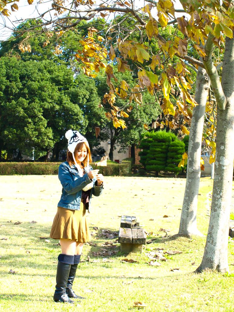 Autumn smile by MinoruneTomo