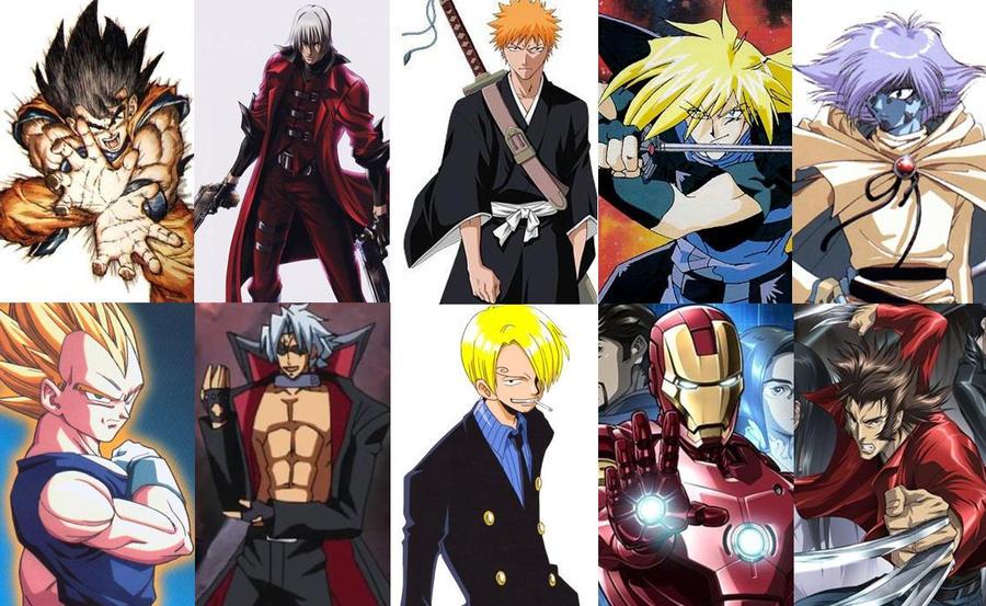 top anime manga