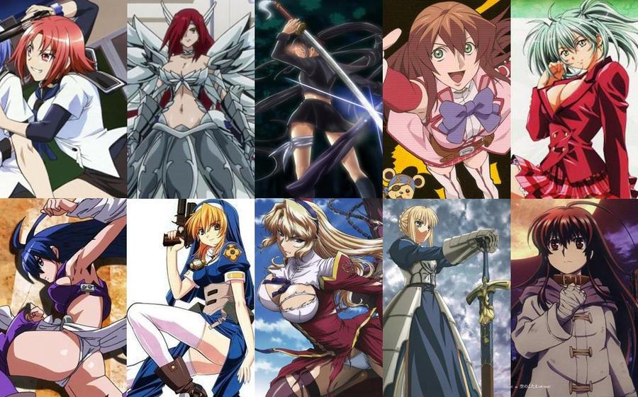 My Anime FavortieGirls 11 - 20 by Dantefreak