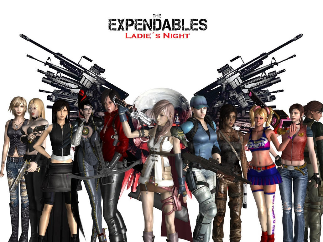 the expendables ladies nightdante-564 on deviantart