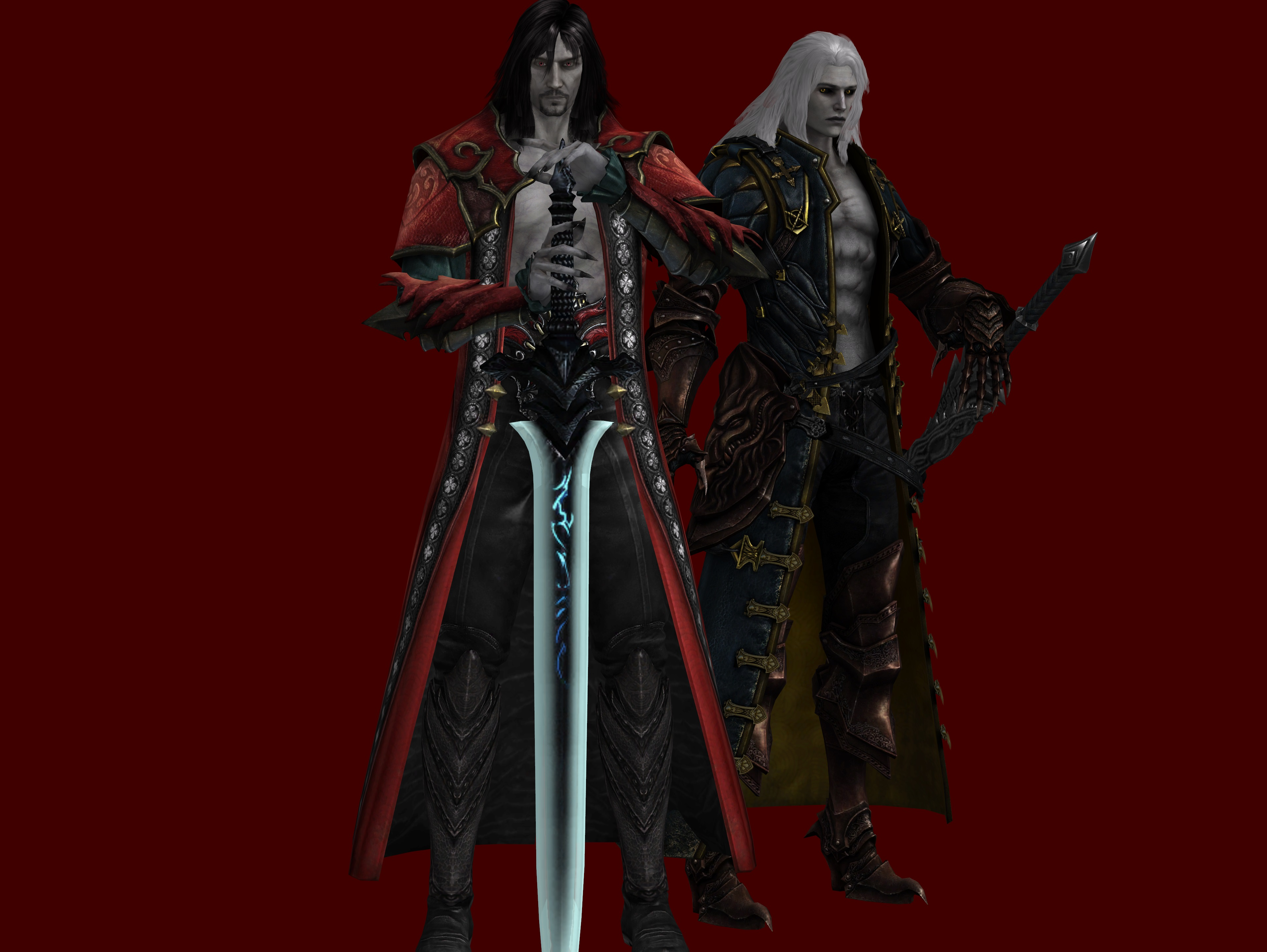 Father And Son Castlevania Lords Of Shadow 2 By Dante 564