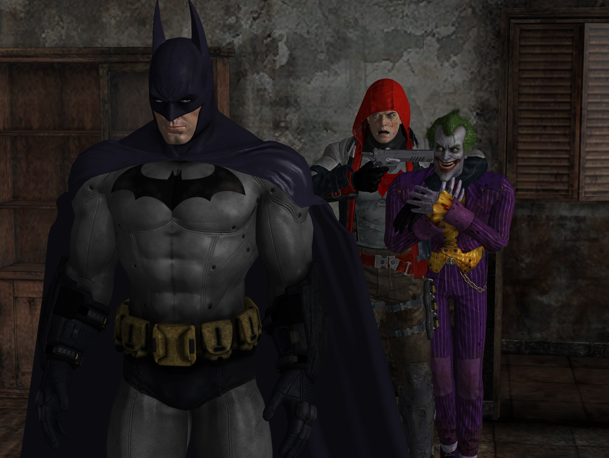 tribute to batman under the red hood by dante564 on