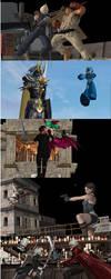 Square Enix vs Capcom part 1 by Dante-564