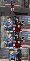 Blaze meets Lucia again