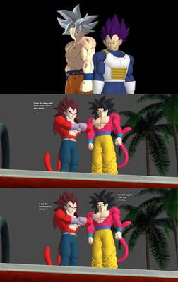 Ultra Instinct and HakkaiSHIN