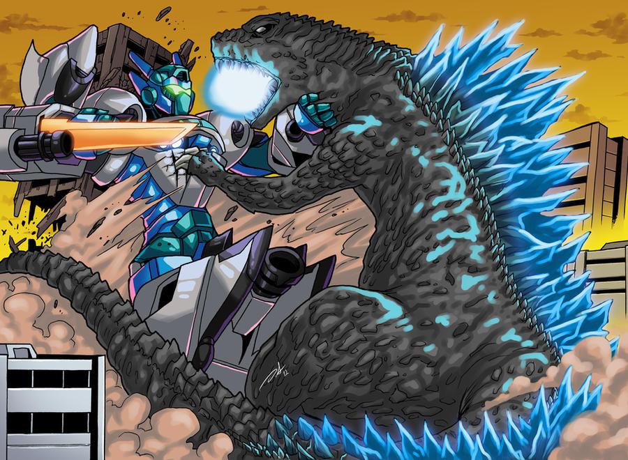 Godzilla Vs Garuda II by KaijuDuke