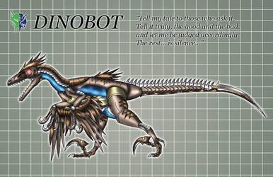 Dinobot Beast Mode by KaijuDuke