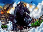 Godzilla Homage